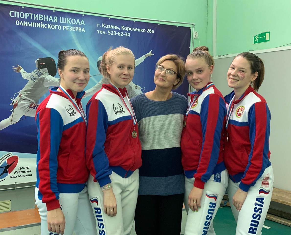 Всероссийский турнир сильнейших по фехтованию на рапирах среди юниорок до 24 лет