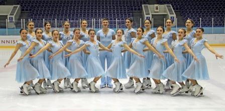 Международные соревнования по синхронному фигурному катанию на коньках «Snowflakes Trophy»