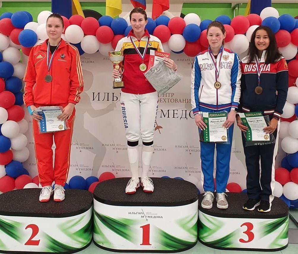 Всероссийские соревнования по фехтованию на рапирах