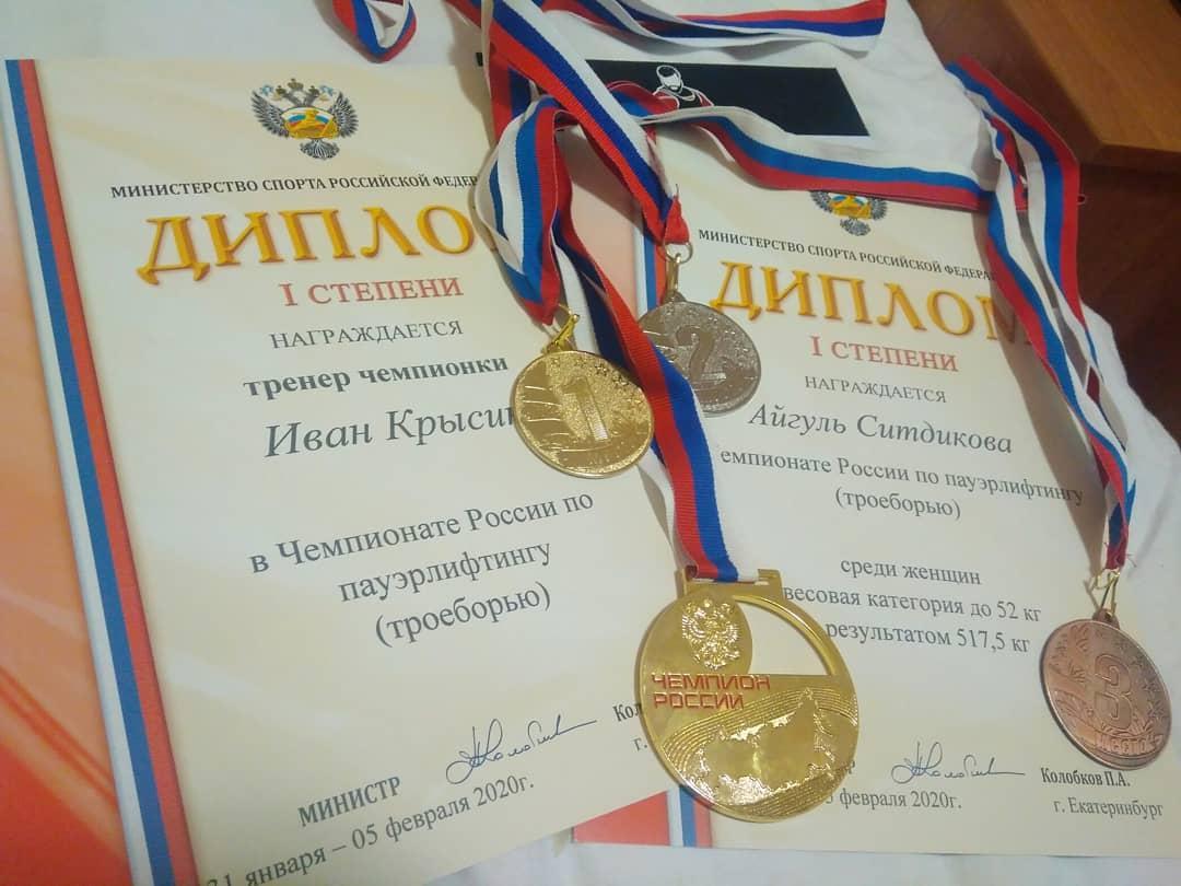 Чемпионат и первенство России по пауэрлифтингу