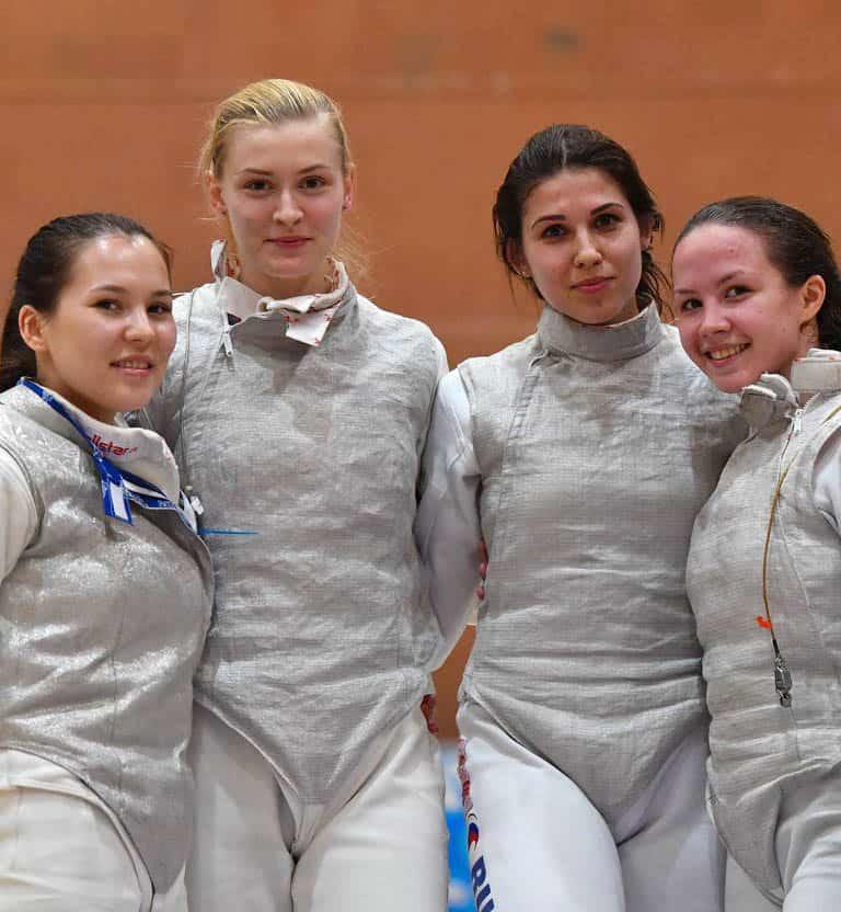 Первенство Европы среди молодежи по фехтованию