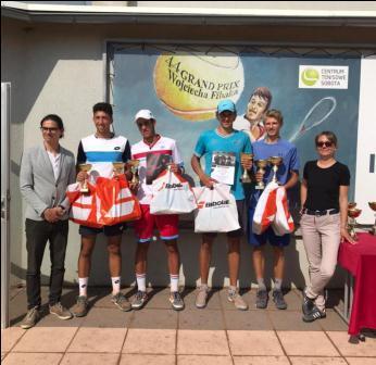 Международный турнир «J3 Sobota powiat poznanski open junior tour -2021» по теннису