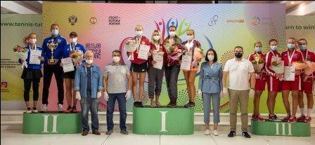 V летняя Спартакиада молодежи России по теннису