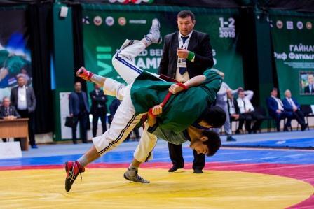 Чемпионат мира по борьбе на поясах