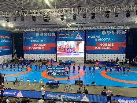 Всероссийский турнир среди юношей «Новая высота» по греко-римской борьбе