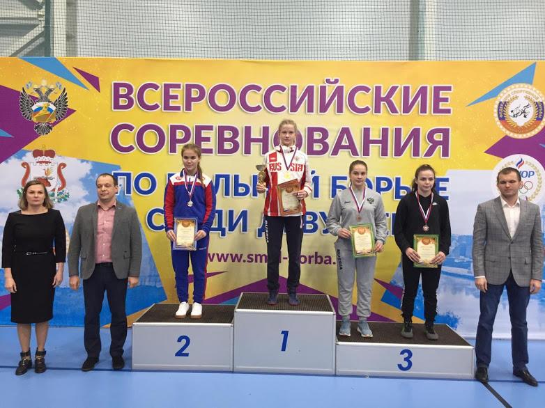 Всероссийские соревнования по женской борьбе