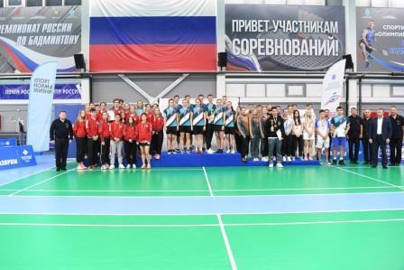 Командный и личный чемпионат России по бадминтону 2021