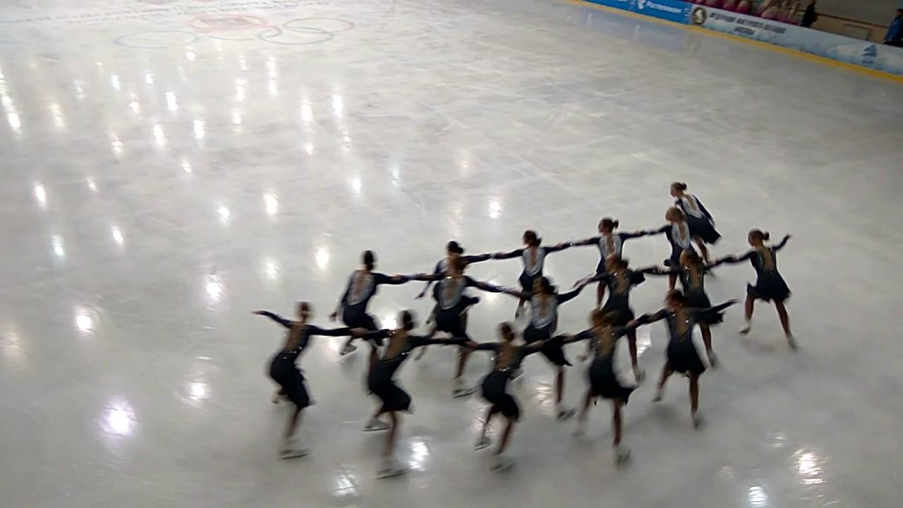 II этап Кубка России по синхронному фигурному катанию на коньках
