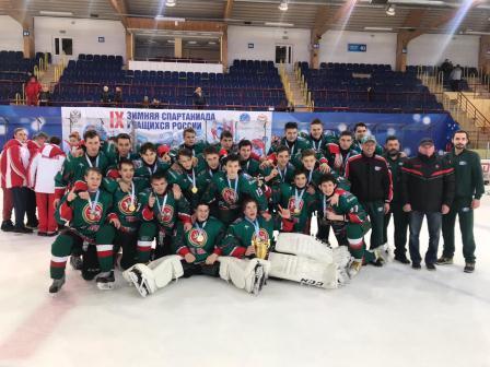 Финал IX зимней Спартакиады учащихся России по хоккею
