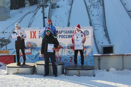 Финал IX зимней Спартакиады учащихся России по прыжкам на лыжах с трамплина