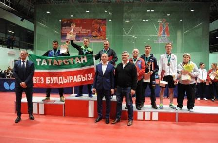 Чемпионат России по настольному теннису