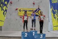 Всероссийские соревнования «Невские вертикали» по скалолазанию