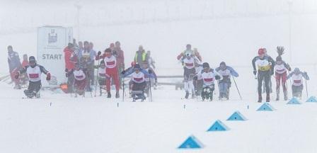 Чемпионат России по лыжным гонкам среди лиц с ПОДА