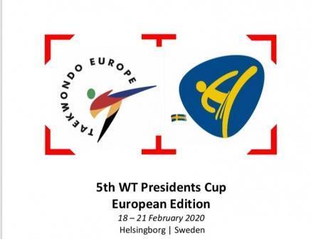 Международный турнир «WT President's Cup European Edition» по тхэквондо ВТФ