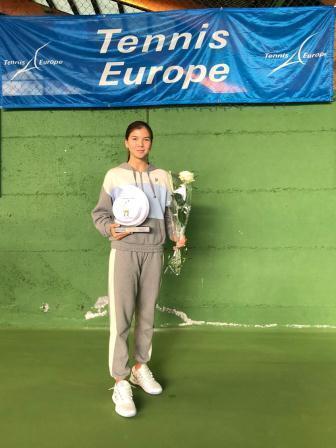 Международный турнир серии Tennis Europe «LE CHAMBON SUR LIGNON» среди юношей и девушек 15-16 лет по теннису