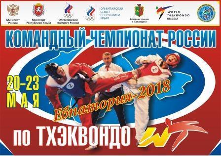 Командный чемпионат России по тхэквондо ВТФ