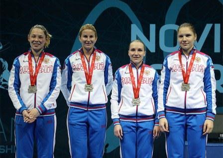 Чемпионат Европы по фехтованию