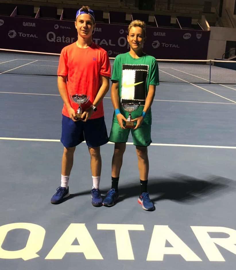 Международный юниорский турнир серии ITF «Qatar ITF Junior Open» по теннису