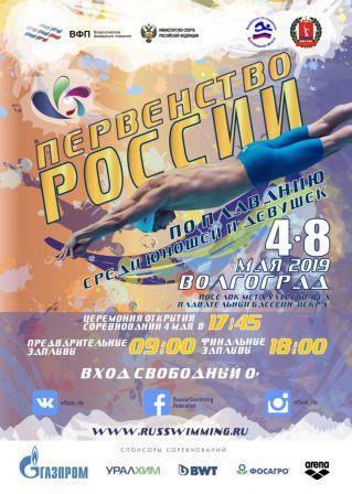 Первенство России среди юношей и девушек по плаванию