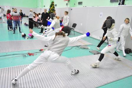 Первенство ПФО по фехтованию на шпагах среди юношей и девушек