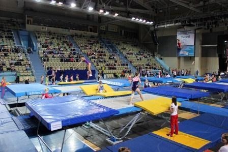 Всероссийские соревнования «Надежды России» по прыжкам на батуте и акробатической дорожке