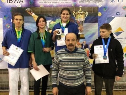 Международный турнир на призы Заслуженного тренера Республики Казахстан Валиева Рафика Гарифовича среди юношей и девушек по борьбе на поясах