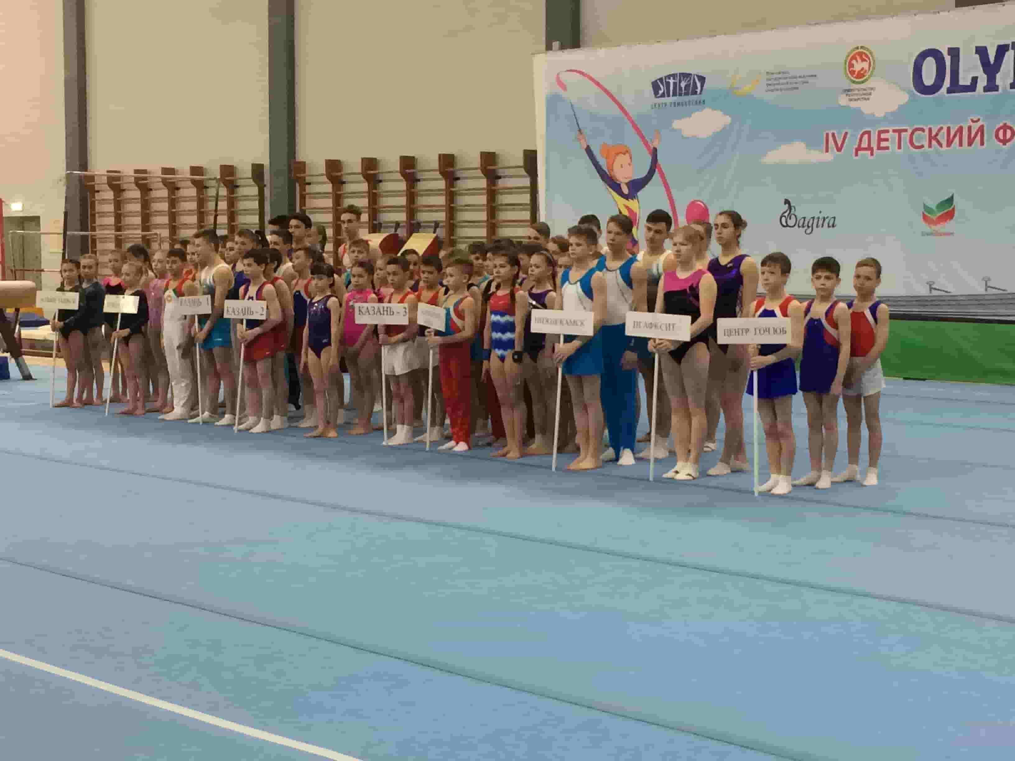 Чемпионат и первенство Республики Татарстана по спортивной гимнастике