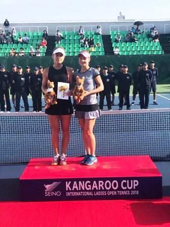 Международный турнир серии ITF «Kagaroo Cup International Ladies Open Tennis» по теннису