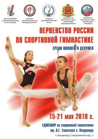Первенство России среди юношей и девушек по спортивной гимнастике