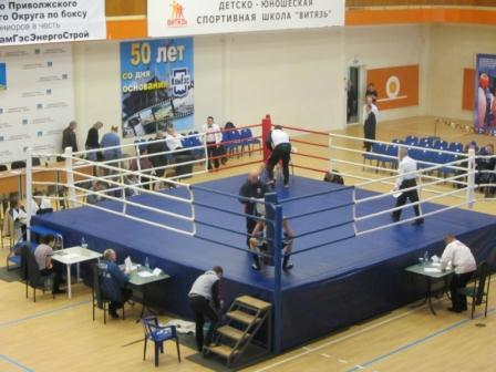 Первенство Приволжского Федерального округа среди юниоров по боксу